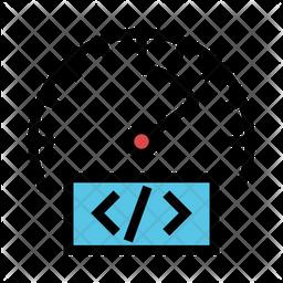 Coding Performance Icon
