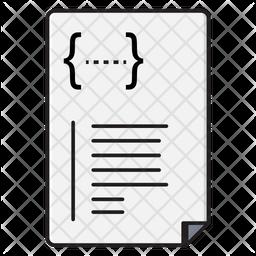 Coding Script Icon