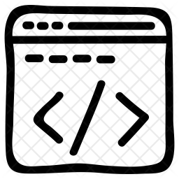 Coding webpage Icon