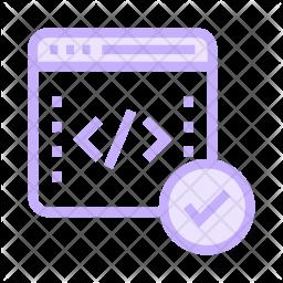 Coding window Icon