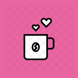 Coffee Icon Of Glyph Style Available In Svg Png Eps Ai Icon Fonts
