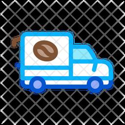 Coffee Car Icon