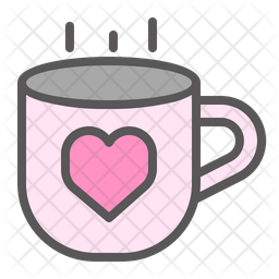 Coffee Date Icon Of Colored Outline Style Available In Svg Png Eps Ai Icon Fonts
