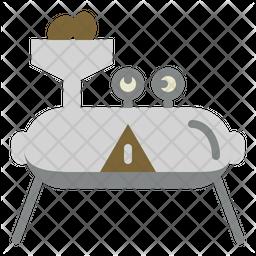 Coffee Machine Flat Icon
