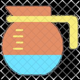 Coffee Pot Flat Icon