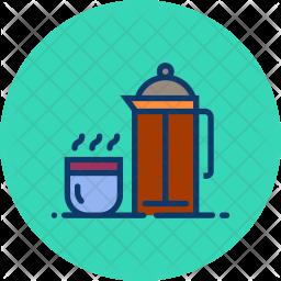 Coffee presser Icon