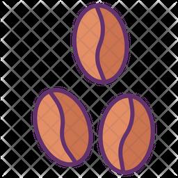 Coffee Seeds Icon