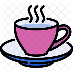 Coffee Time Icon Of Colored Outline Style Available In Svg Png Eps Ai Icon Fonts