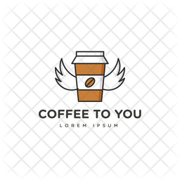 Coffee To You Colored Outline  Logo Icon