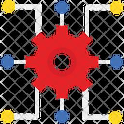 Cogwheel Flat Icon
