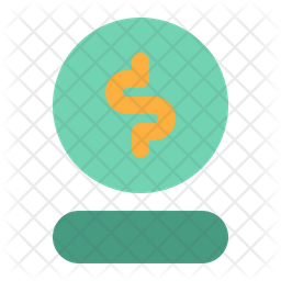 Coin Icon Of Flat Style Available In Svg Png Eps Ai Icon Fonts