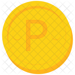 Coin Flat Icon