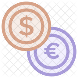 Coin Icon Of Colored Outline Style Available In Svg Png Eps Ai Icon Fonts