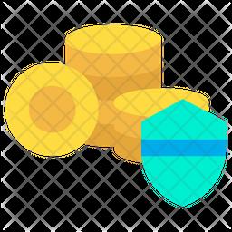 Coin Shield Icon