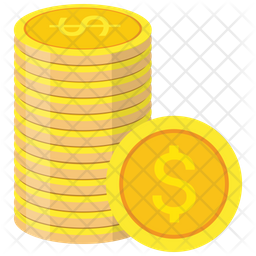 Coins Stack Icon Of Flat Style Available In Svg Png Eps Ai Icon Fonts
