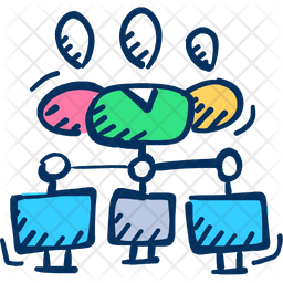 Collaboration Icon Of Doodle Style Available In Svg Png Eps Ai Icon Fonts