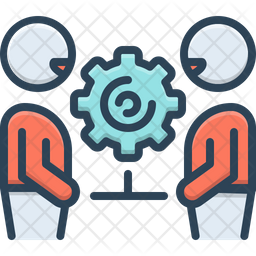 Collaboration Icon Of Colored Outline Style Available In Svg Png Eps Ai Icon Fonts