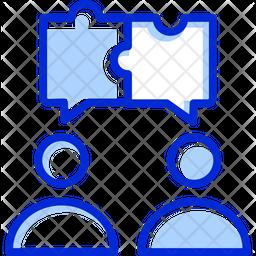 Collaboration Colored Outline Icon