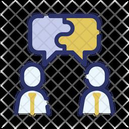 Collaboration discussion Icon
