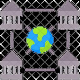 Collaborative Bank Icon