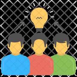 Collaborative Solution Icon