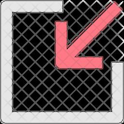 Collapse Line Icon