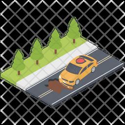 Collision Insurance Icon