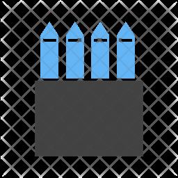 Color box Flat Icon