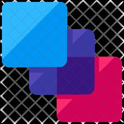Color layer Icon