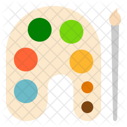 Color Palette Icon