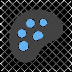 Color palette Flat Icon
