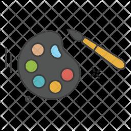 Color pallet Icon