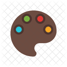 Color plate Icon
