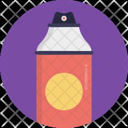 Color Spray Flat Icon