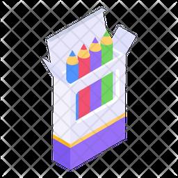 Colour Pencils Icon