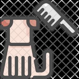 Comb Colored Outline Icon
