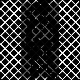 Commando Glyph Icon