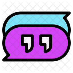 Comment Colored Outline Icon
