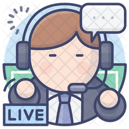 Commentator Icon