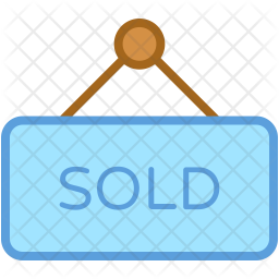 Commercial Colored Outline Icon