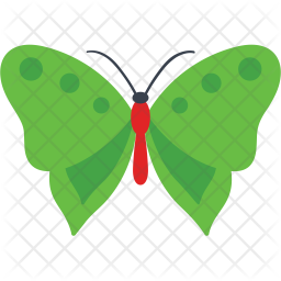 Common Olive Wing Butterfly Icon