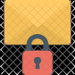 Communication Protection Flat Icon