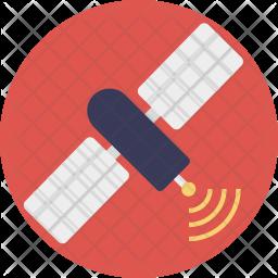 Communication Satellite Icon