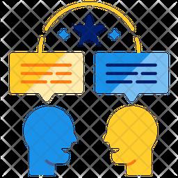 Communication skill Icon