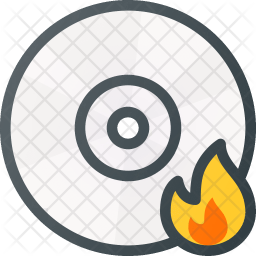 Compact Colored Outline Icon