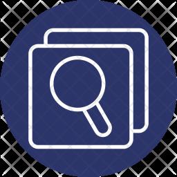 Comparison, Search, Logistic, Shipping Icon
