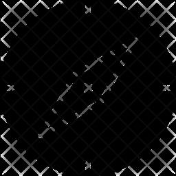 Compass Glyph Icon