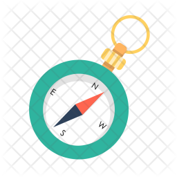 Compass, Direction, Way, Device, Vacation, Holidays, Travel Icon