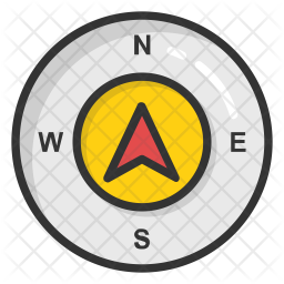 Compass Directions Icon