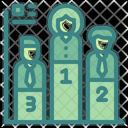 Competition Dualtone Icon